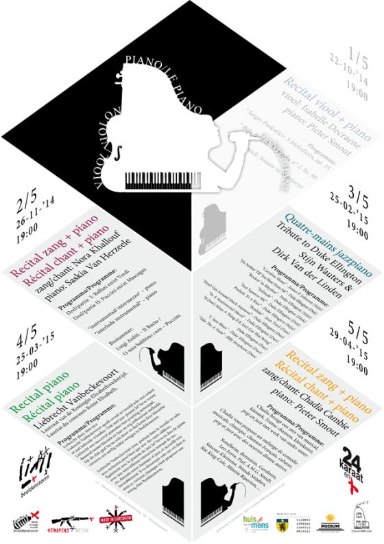 24 karaat & + concert reeks: Recital zang + piano • deel 2/5