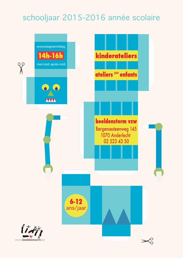 kinderateliers / ateliers pour enfants - 2015-2016