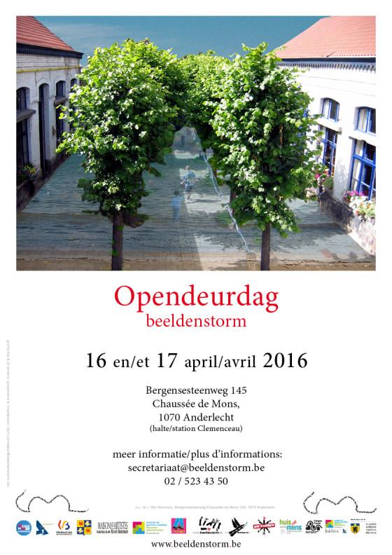 Itinérart 2016 - beeldenstorm opendeurdag
