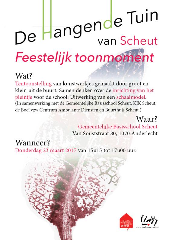 """toonmoment: """"De Hangende Tuin van Scheut"""""""