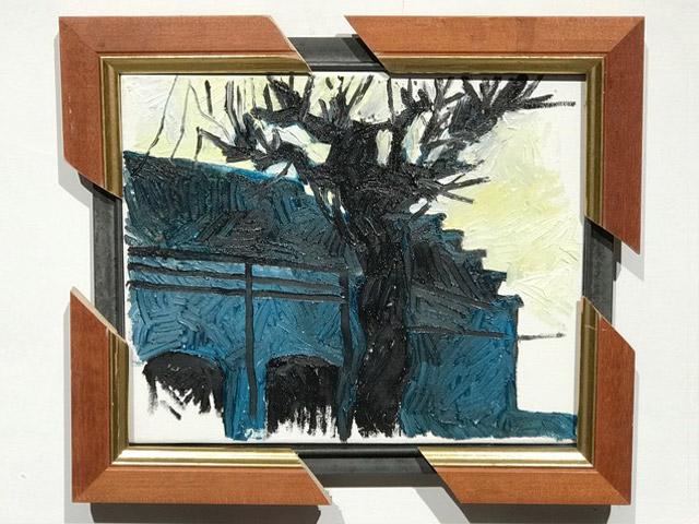 """""""8u10"""" tentoonstelling van Geoffroy Dussart, georganiseerd door De Kringwinkel Televil - Laken en Beeldenstorm"""