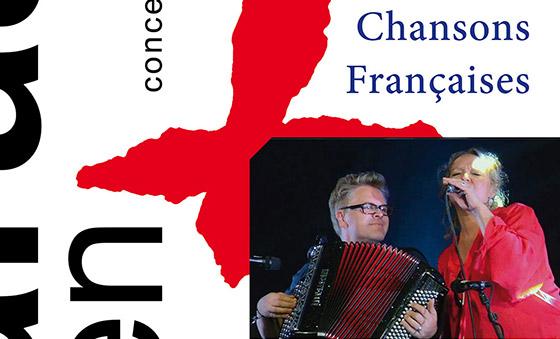 "24 karaat & plus concert: ""Chansons Françaises"" – Gwen Cresens (accordeon) & Karla Verlie (zang)"