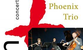24 karaat & plus concert: Phoenix Trio – Lieve Schuermans (fluit) Simon Turner (cello) Ivan Couëffé (piano)