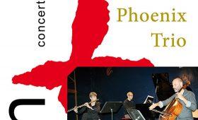 24 karaat & plus concert: Phoenix Trio – Lieve Schuermans (fluit) Simon Turner (cello) Ivan Couëffé (piano)