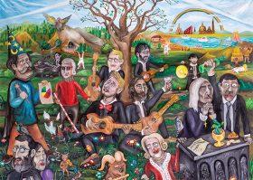 """CD voorstelling: """"Tabula rasa"""" door Four Aces Guitar Quartet"""