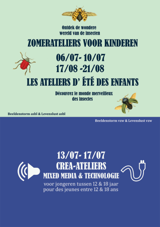Zomerateliers - 2015