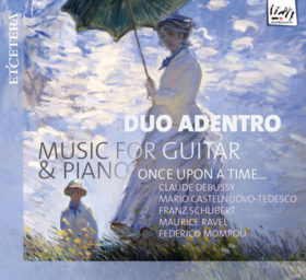'Music For Guitar en Piano – Once upon a time …' – Duo Adentro • cd