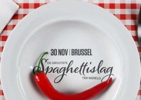 "Brussel Helpt – Spaghettislag – ""Décadence en équilibre"""